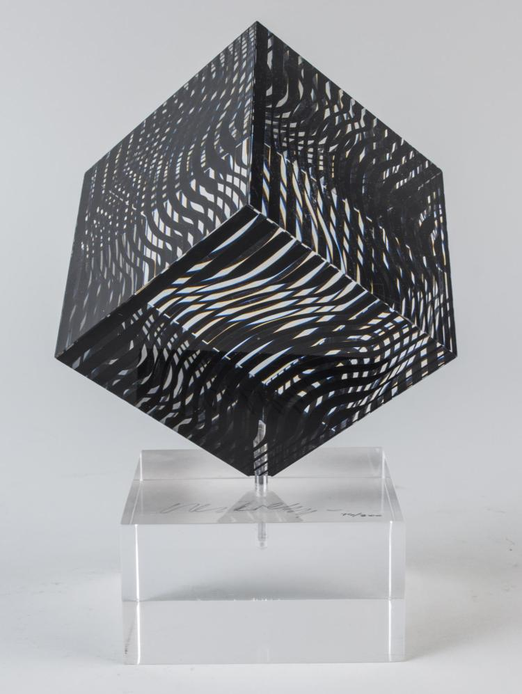 Victor Vasarely, Optical Art Sculpture