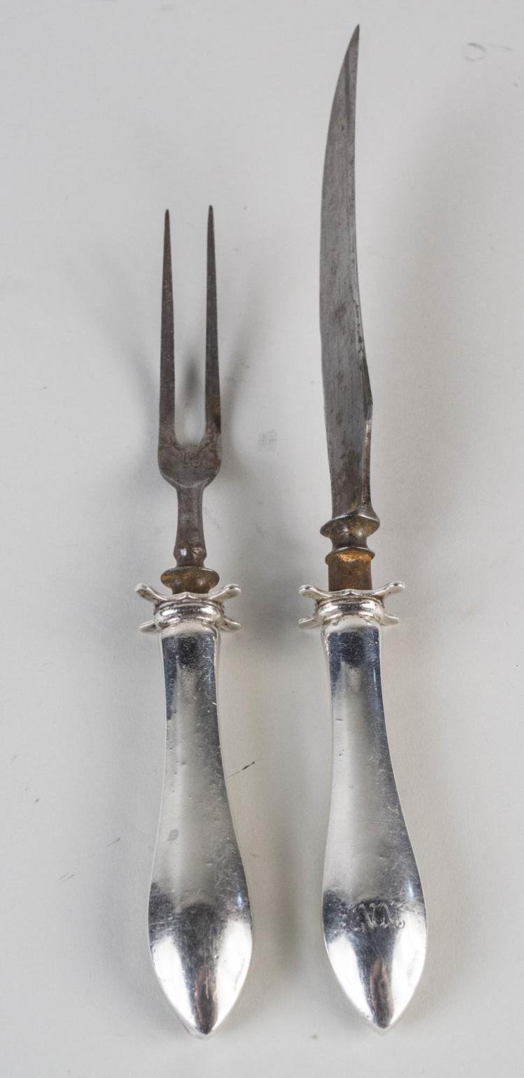 Dominick & Haff Sterling Handled Carving Set