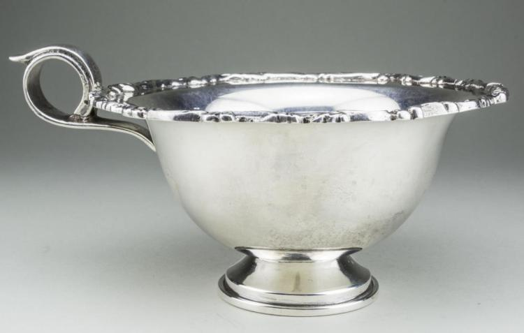 Mexican Sterling Silver Pedestal Bowl *
