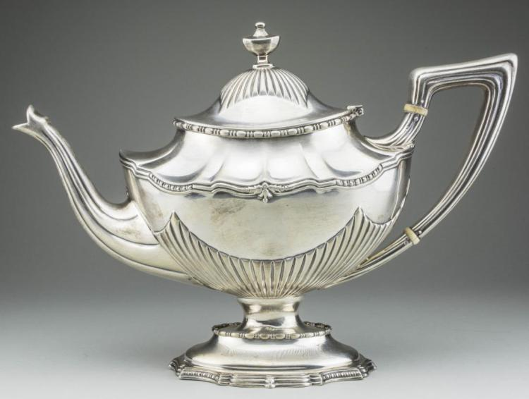 Dominick Haff Sterling Silver Teapot *
