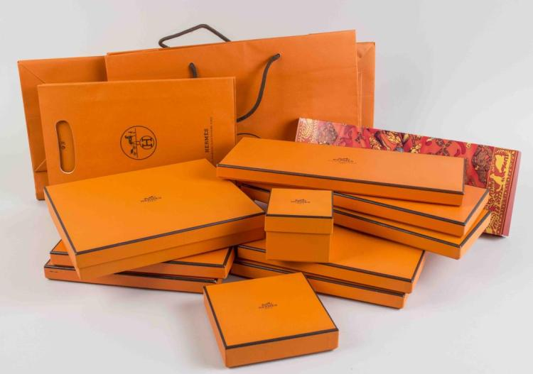 Group of Hermes Boxes