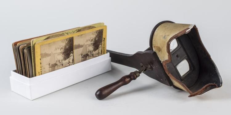 Vintage Stereoscope & Slides