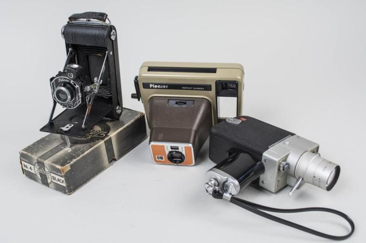 Group of Vintage Cameras