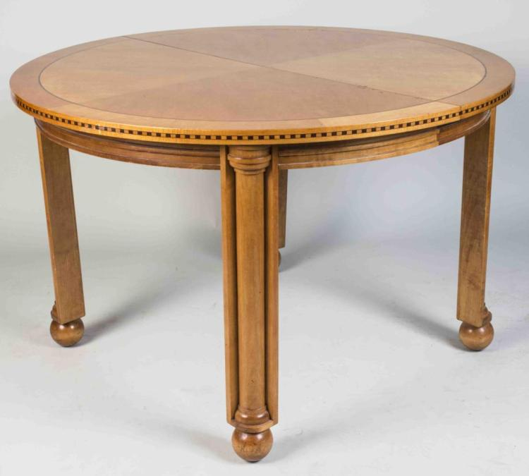 Hickory & White Art Deco Style Dining Table