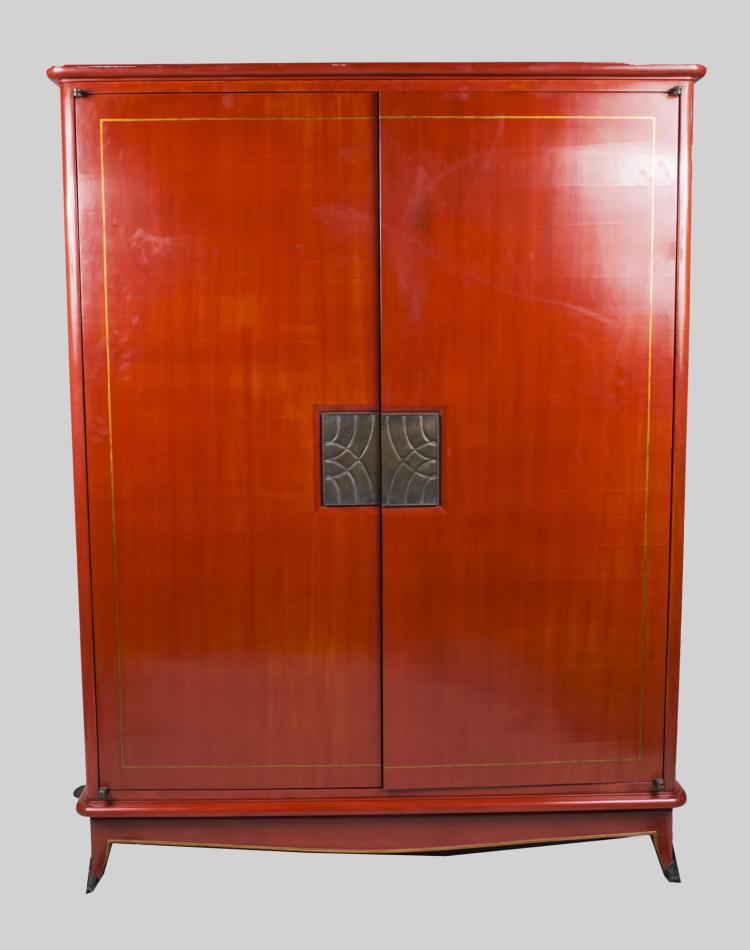 Art Deco Style Lacquered Cabinet