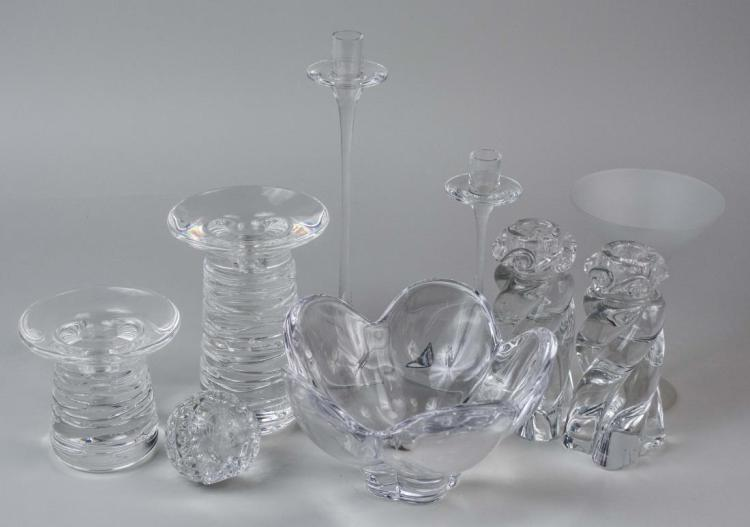 Group of Crystal Decorations