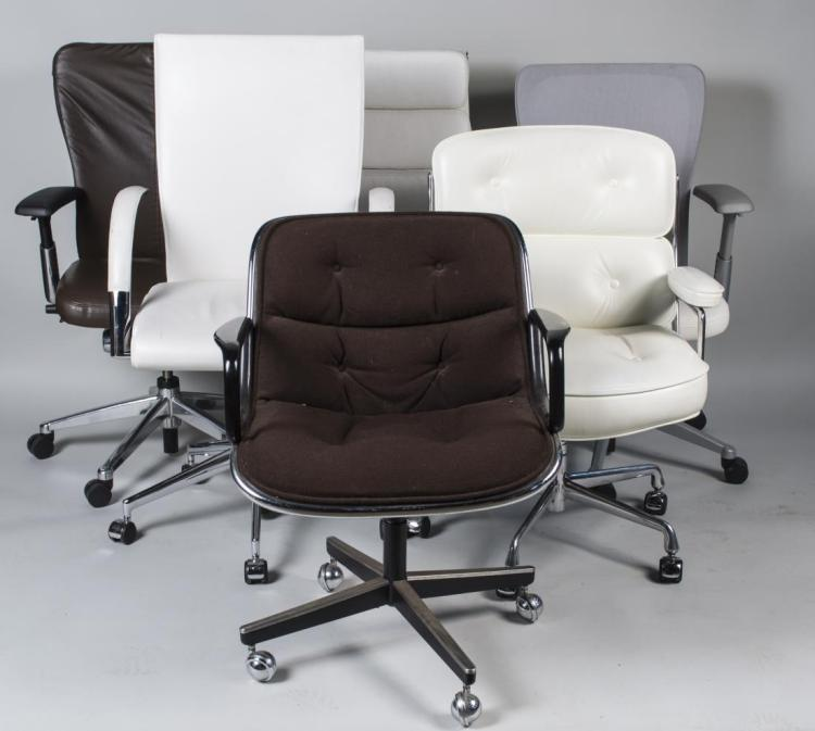 Group of Six Miscellaneous Office Chairs