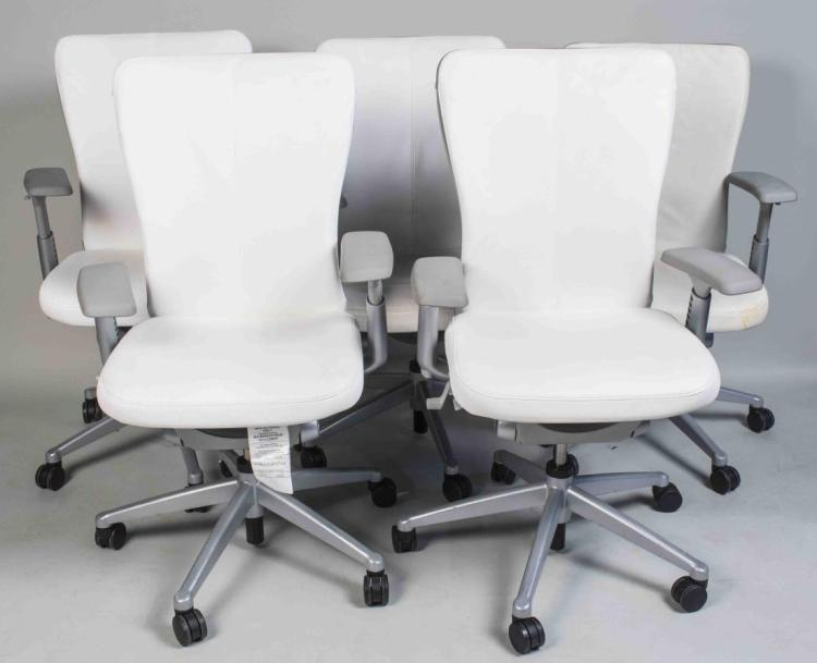 Set of Ten Haworth Zody Executive Task Chairs