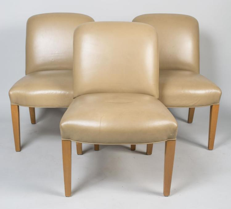 Set of Three Contemporary Chairs