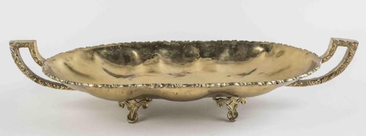 Brass Tray Centerpiece