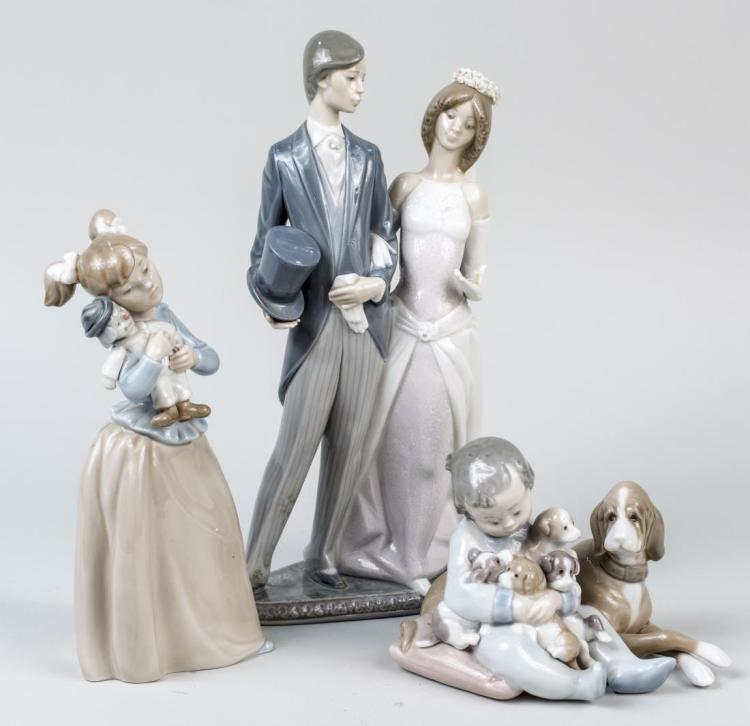 Two Lladro Porcelain Figures