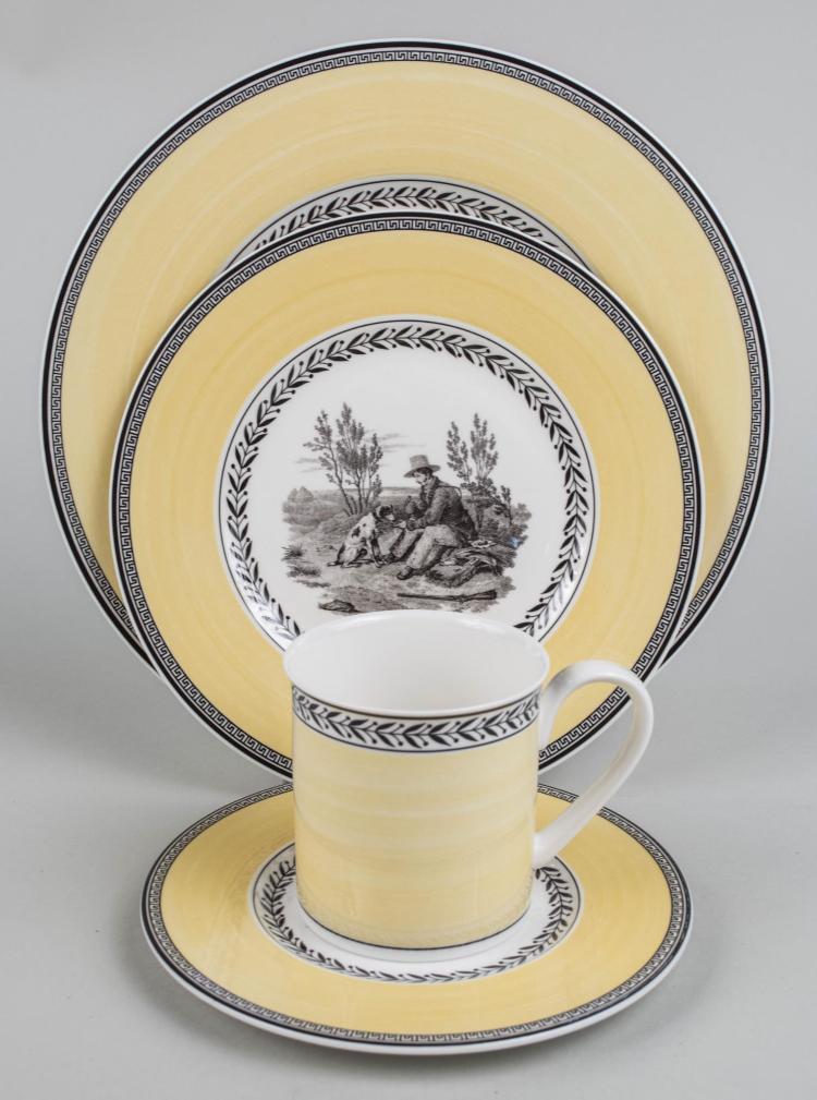 Villeroy & Boch Porcelain Assembled Dinner Service