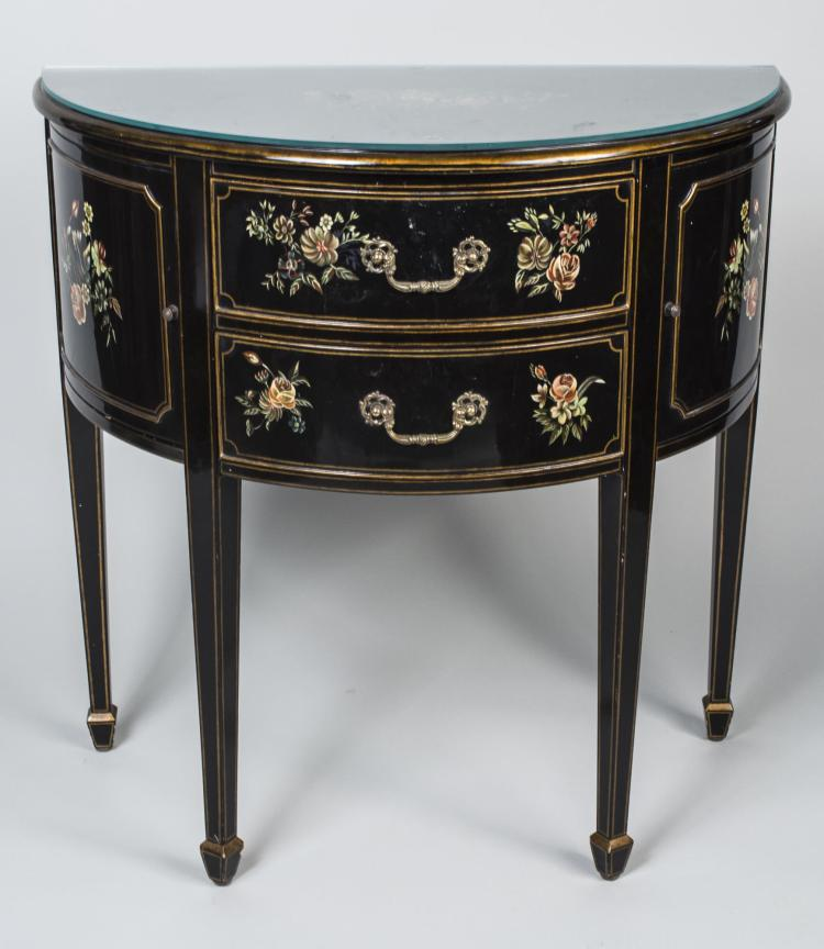 Maitland Smith Painted Commode