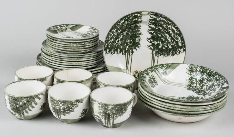 Pottery Dessert Set