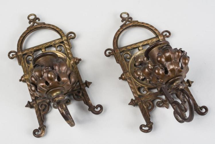 Pair of Renaissance Revival Style Sconces