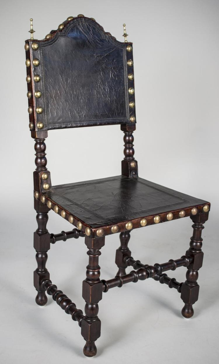 Renaissance Revival Style Side Chair