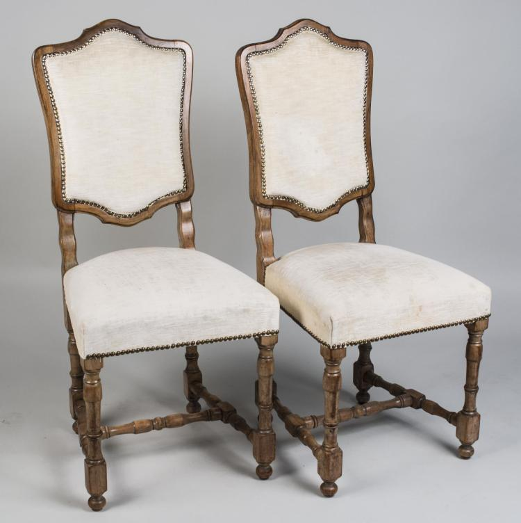 Pair of Regence Style Side Chairs