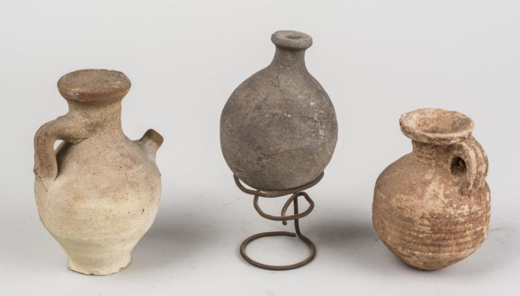 Group of Early Roman Pottery Articles