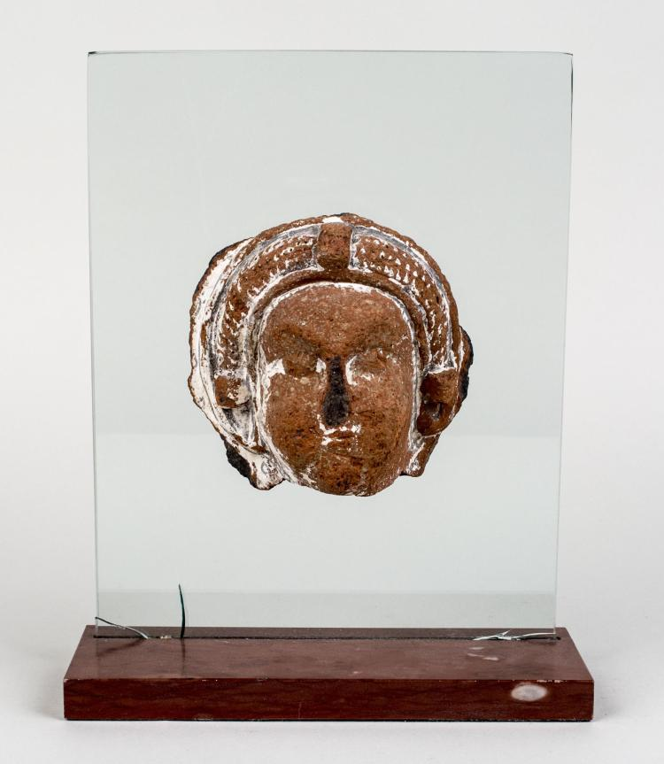 Carved Stone Mask