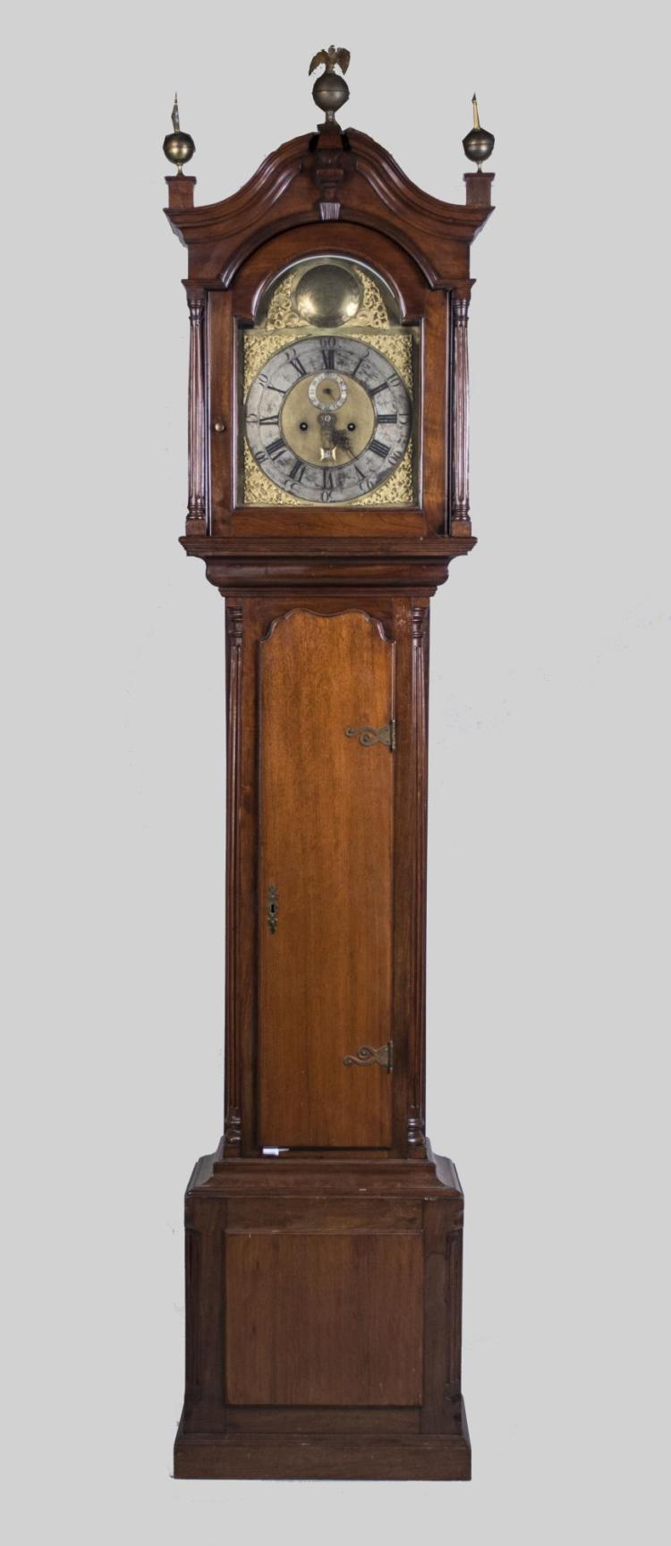 John Wood Philadelphia Long Case Clock   *