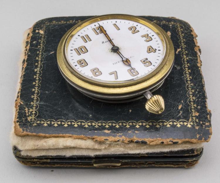 Tiffany & Co. Eight Day Travel Clock