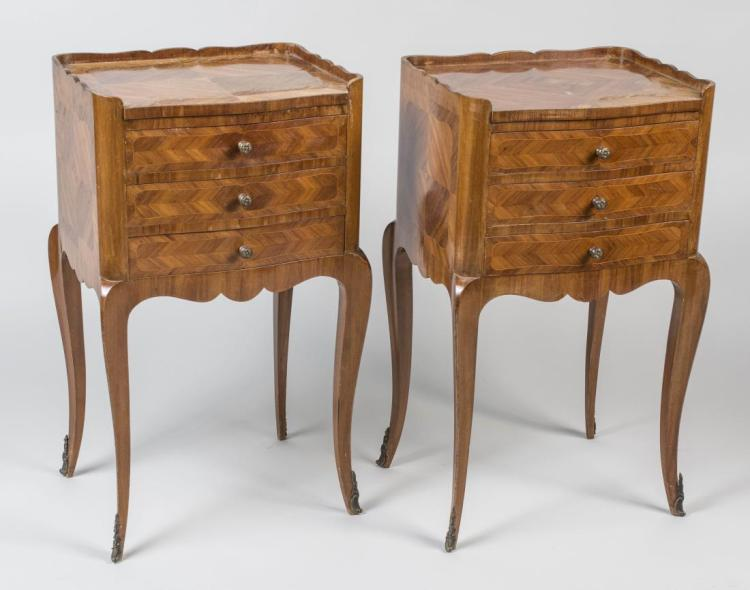 Pair of Louis XV Style Night Tables