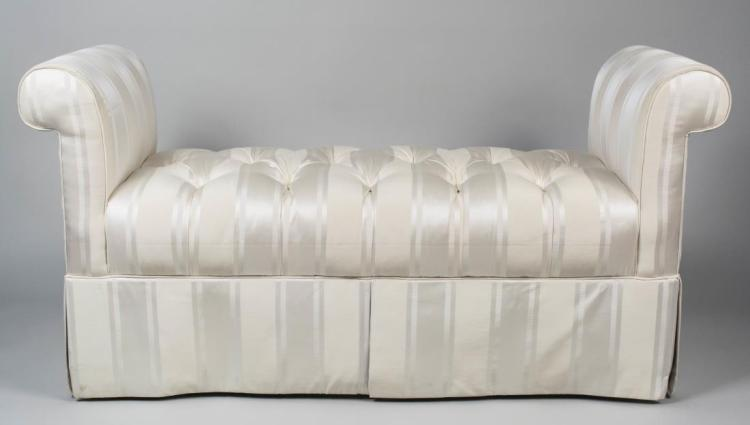 Ethan Allan Upholstered Window Bench