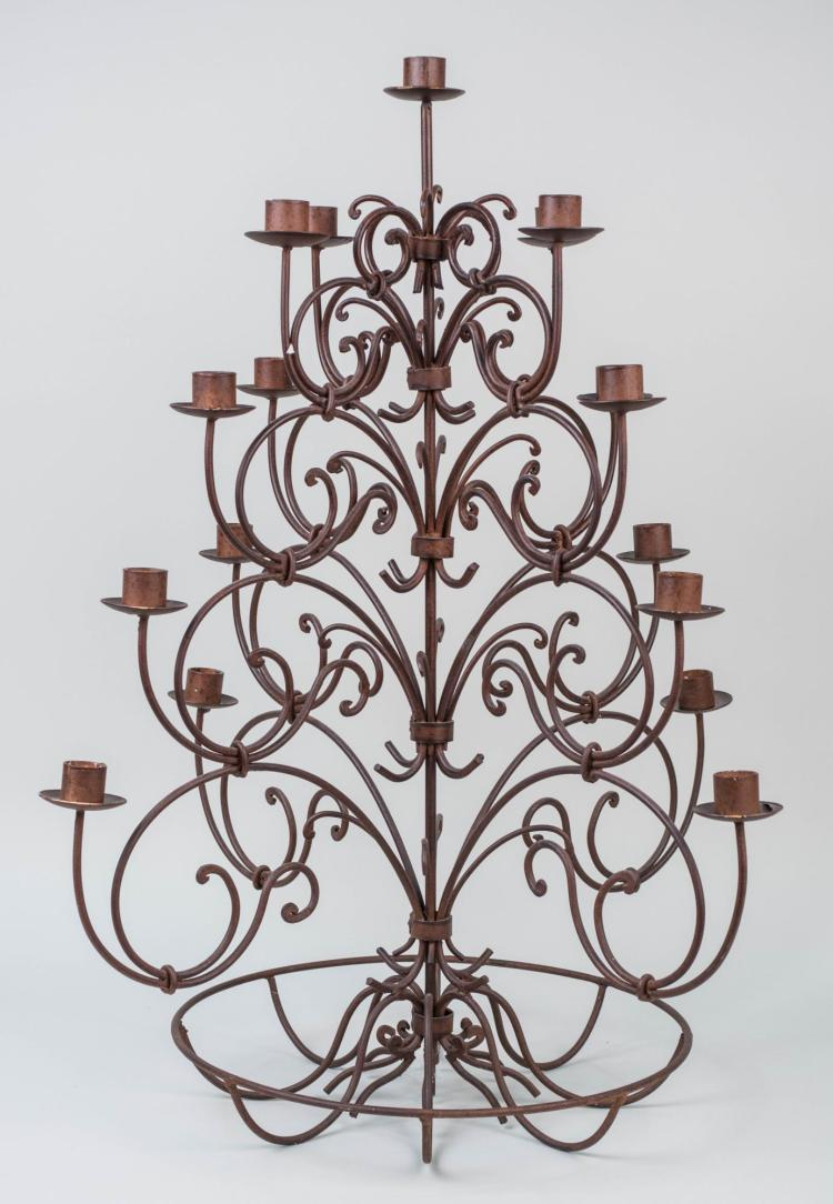 Five Tier Metal Candelabra