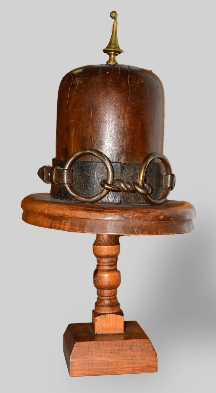 Vintage Wood Hat Form