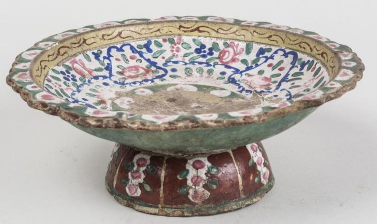 Terra Cotta Pedestal Bowl
