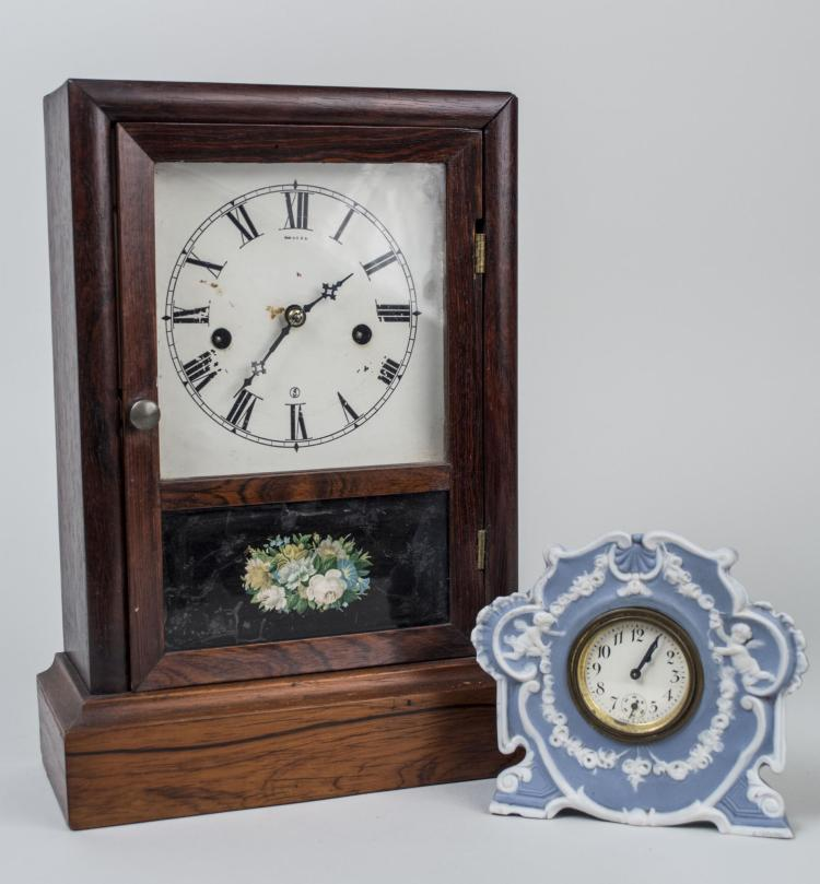 Two Vintage Table Clocks
