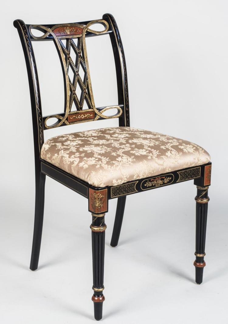 Regency Style Painted Chair