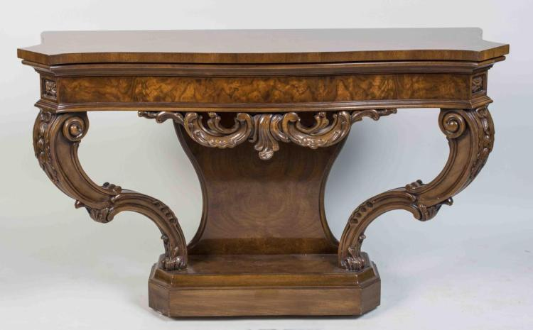 Rococo Style Console Table
