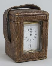 French Brass Carriage Clock   *