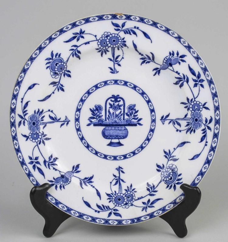 Minton Delft Porcelain Plate