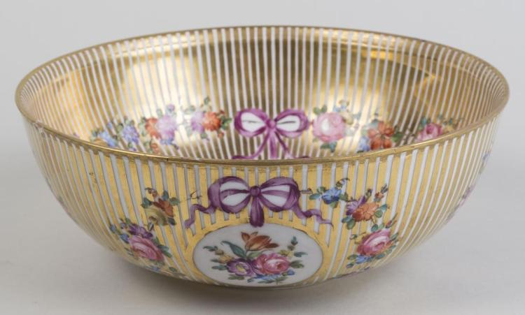 French Porcelain Center Bowl