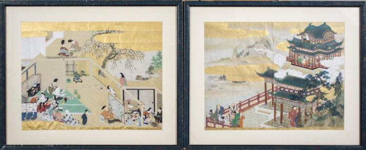 Two Chinese Reversible Drawings