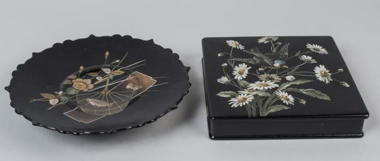 Two Lacquerware Table Decorations