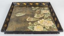Asian Lacquered Tray