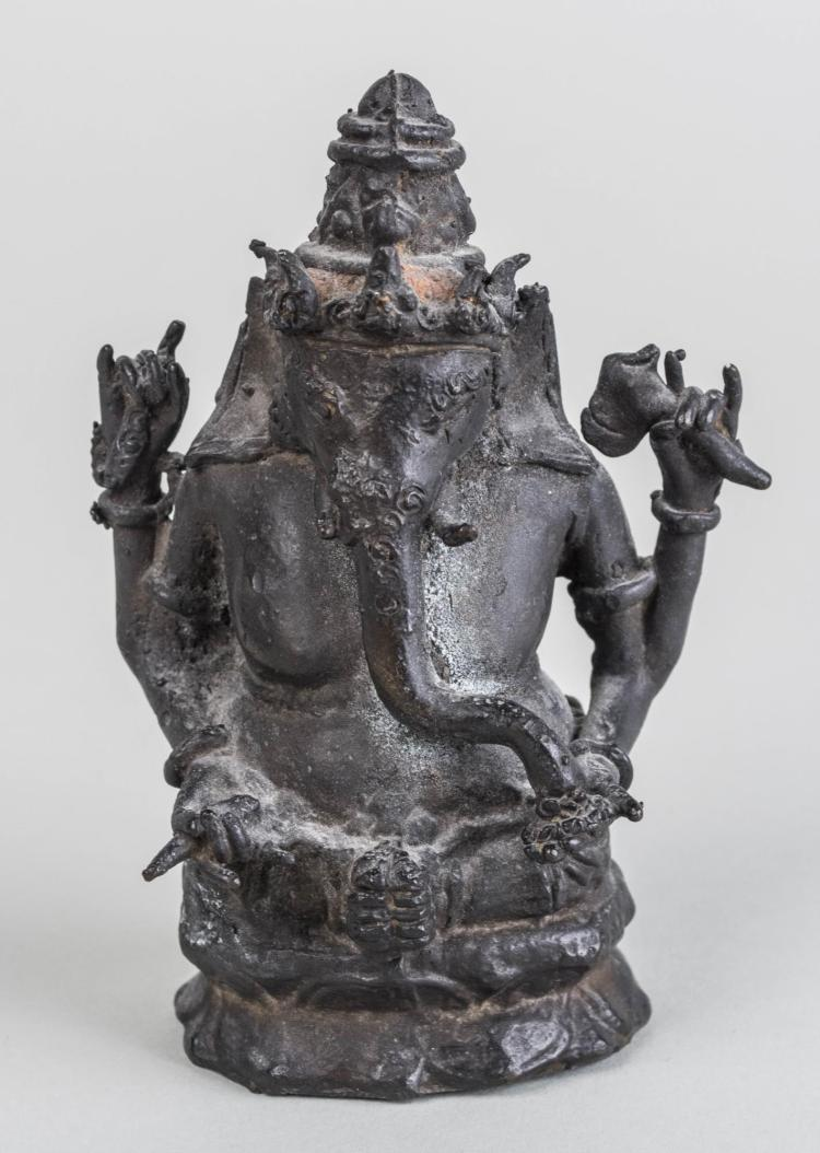 Bronze Figure of Ganesh