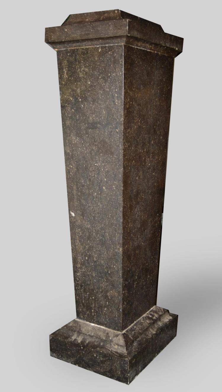 Black Marble Pedestal