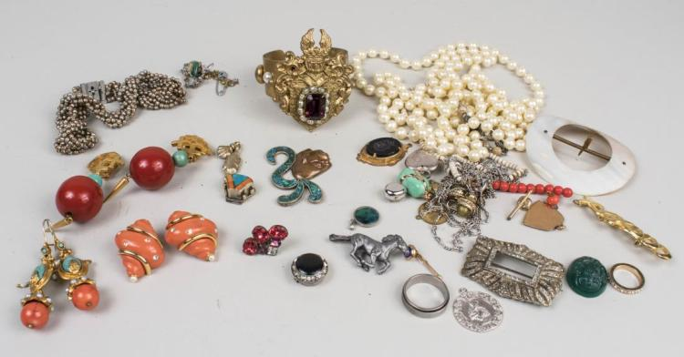 Miriam Haskell and Costume Jewelry