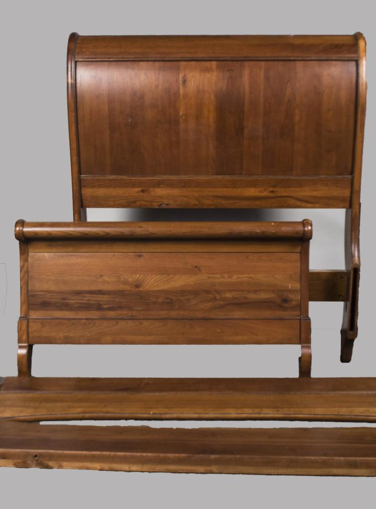 Pair of Sleigh Beds