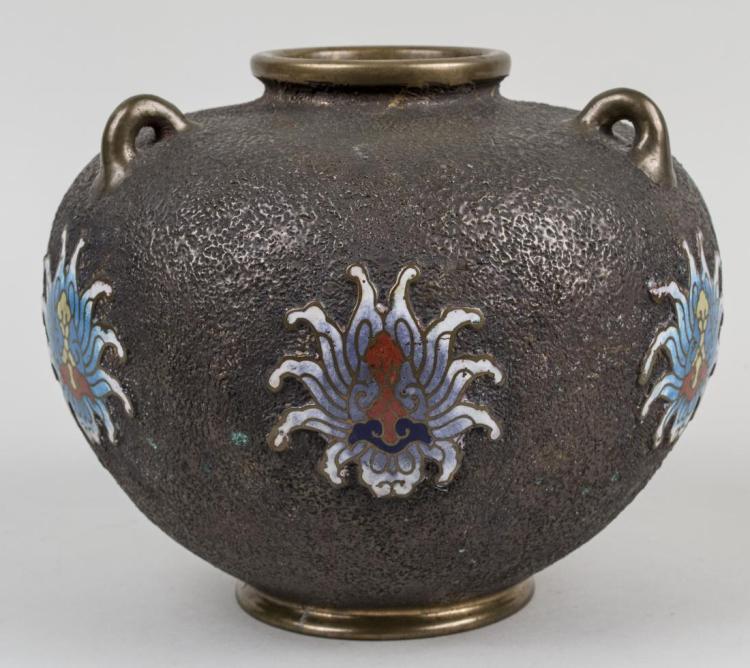 Asian Bronze Vase
