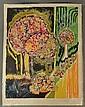 Gloria Vanderbilt (Am. b1924)   Abstract Landscape, Gloria Vanderbilt, Click for value