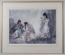 Pair of William Russell Flint Prints