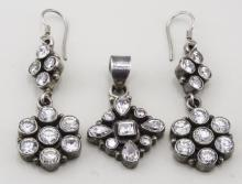 Silver Jewelry Suite   *