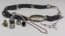 Group of Silver and Silver Tone Jewelry