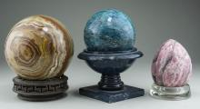 Three Mineral Specimens