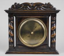 Oak Case Barometer